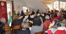 Mehr als 40 Mitglieder machten von ihrem Stimmrecht Gebrauch und diskutierten mit.