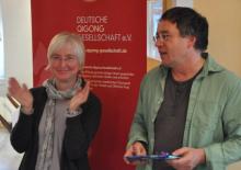 Aus langjähriger Vorstandsarbeit verabschiedet wurden Ulrike Dehnert und Rainer Jakisch.