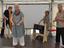 Qigong mit meditativer Live-Musik