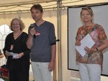 Begrüßung durch die Vorstände Cordula Goulet, Olaf Lüderitz und Gerlinde Melcher