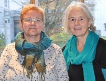 Zu Kassenprüferinnen wurden gewählt: Marion Lass (l.) und Maria Christl.