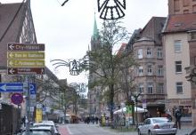 Wenige Meter von der mittelalterlichen Altstadt entfernt lag das Tagungshaus.